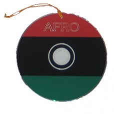 Pan, Afro and African American flag CD