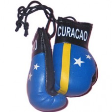Curacao Flag Mini Boxing Gloves
