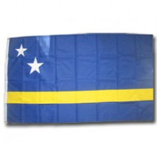 Curacao 3 feet X 5 feet polyester flag