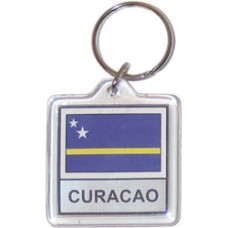 Curacao Square key ring