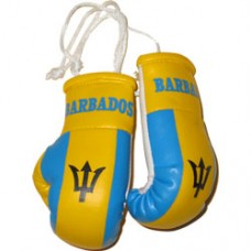 New Design Barbados Flag Mini Boxing Gloves