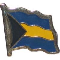 Bahamas flag Lapel Pin