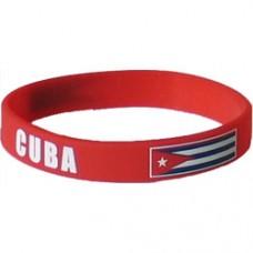 Cuba Flag Silicon Bracelet