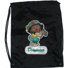 Dominica girl back pack