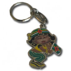 Dominica Large Girl key ring