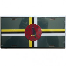 Dominica License Plate