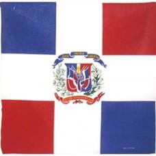 Dominican Republic 100% Cotton Bandana