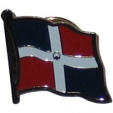Dominican Republic Lapel Pin