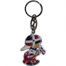 Dominican Republic Large Boy key ring