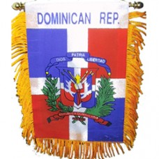 Dominican Republic Mini Banner