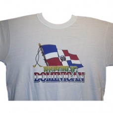EXTRA LARGE Dominican Republic T-Shirt