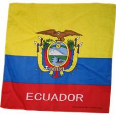 Ecuador 100% Cotton Bandana