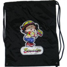 Ecuador girl back pack