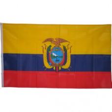 Ecuador 3 feet X 5 feet polyester flag