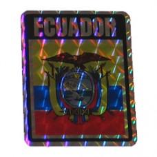 Ecuador 4 inch X 3 inch decal