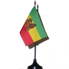 Ethiopia 4 X 6 inch desk flag