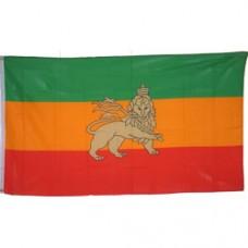 Ethiopia 3 feet X 5 feet polyester flag With Lion