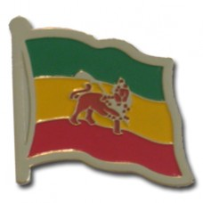 Ethiopia Lapel Pin with Lion