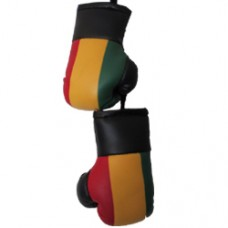 Ethiopia - Red Yellow Green - mini boxing gloves