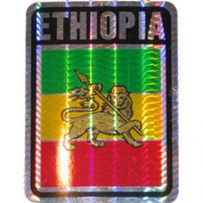 Ethiopia 4 inch X 3 inch decal
