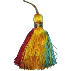 Ethiopia Red Green and Gold Tassel
