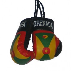 Grenada Flag Mini Boxing Gloves