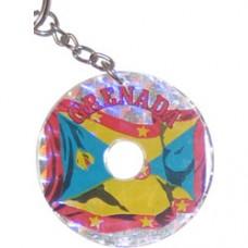 Grenada Circular key ring