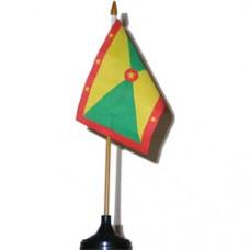 Grenada 4 X 6 inch desk flag