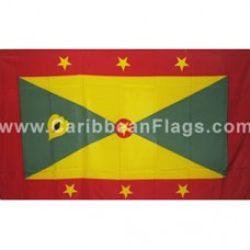 Grenada 3 feet X 5 feet polyester flag