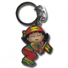 Grenada Large Girl key ring