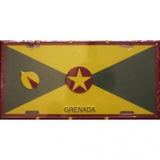 Grenada License Plate