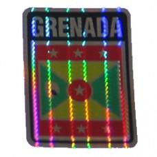 Grenada 4 inch X 3 inch decal