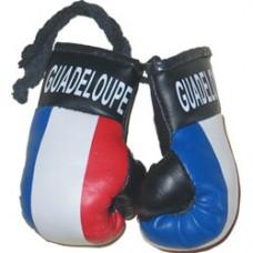 Guadeloupe Flag Mini Boxing Gloves