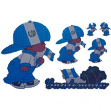 Guatemala Multi-Pack Laser Stickers - BOY DESIGN