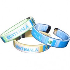 NEW Guatemala Flag Metal Tip Bracelet