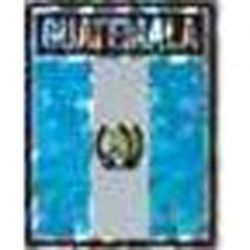 Guatemala flag 4X3 inch decal