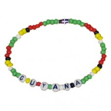 Guyana  Beaded Bracelet