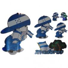 Honduras Multi-Pack Lazer Stickers - BOY DESIGN