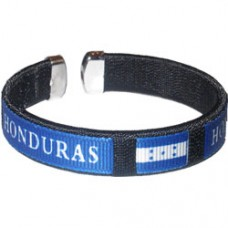 NEW Honduras Flag Metal Tip Bracelet