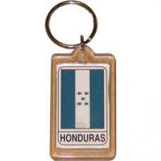 Honduras Rectangular key ring