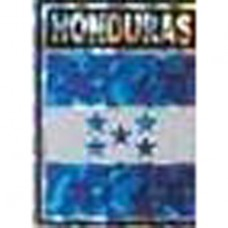 Honduras flag 4X3 inch decal