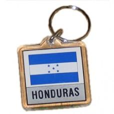Honduras Square key ring