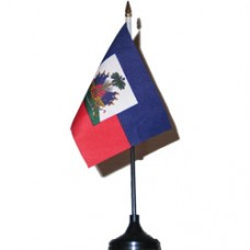 Haiti 4 X 6 inch desk flag