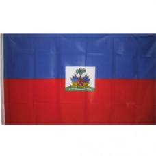 Haiti 3 feet X 5 feet flag polyester