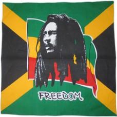 Jamaica Bob Marley 100% Cotton Bandana
