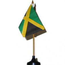 Jamaica 4 X 6 inch desk flag