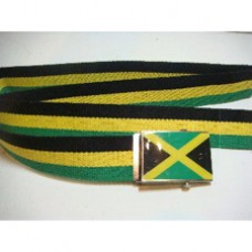 Jamaica Country flag buckle belt
