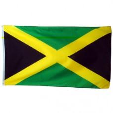 Jamaica 3 feet X 5 feet polyester flag