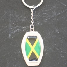 Jamaica New Oval key ring