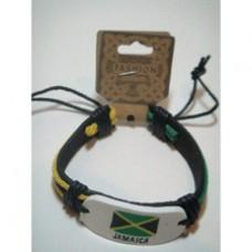 Jamaica leather bracelet